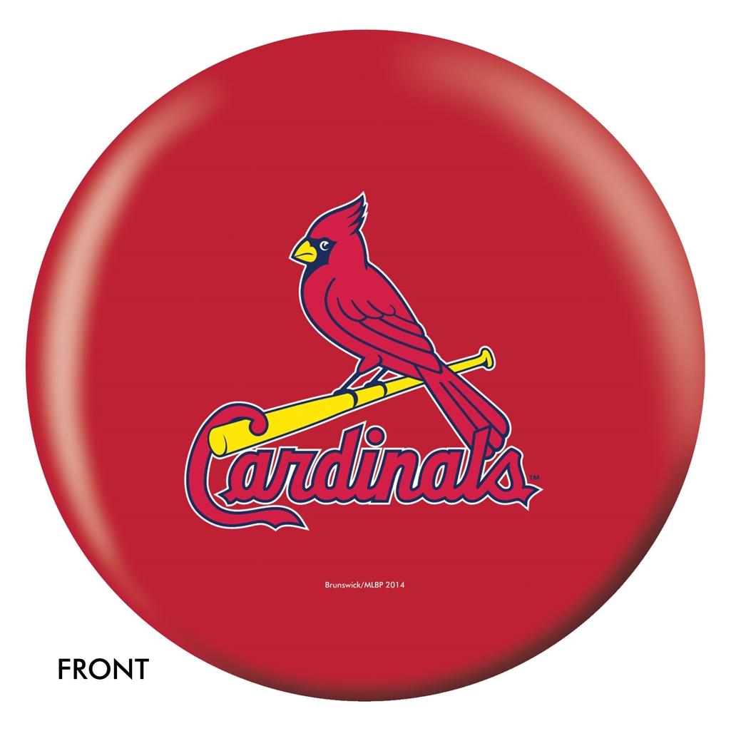 St. Louis Cardinals Bowling Ball
