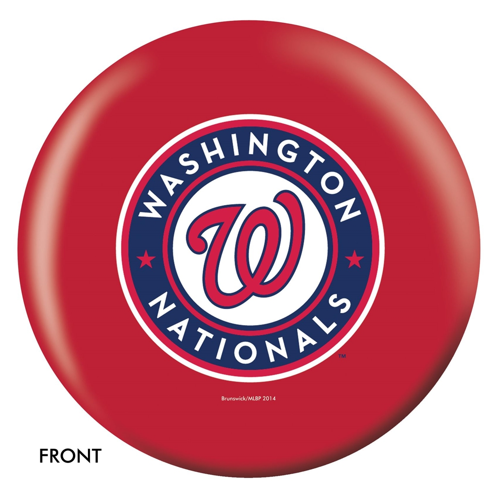 Washington Nationals Bowling Ball