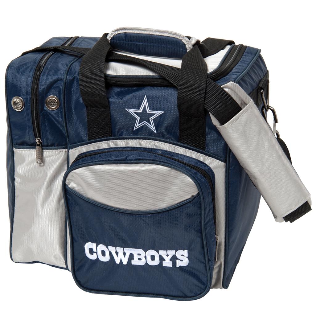 Dallas Cowboys NFL Single Ball Bowling Bag 40471da57