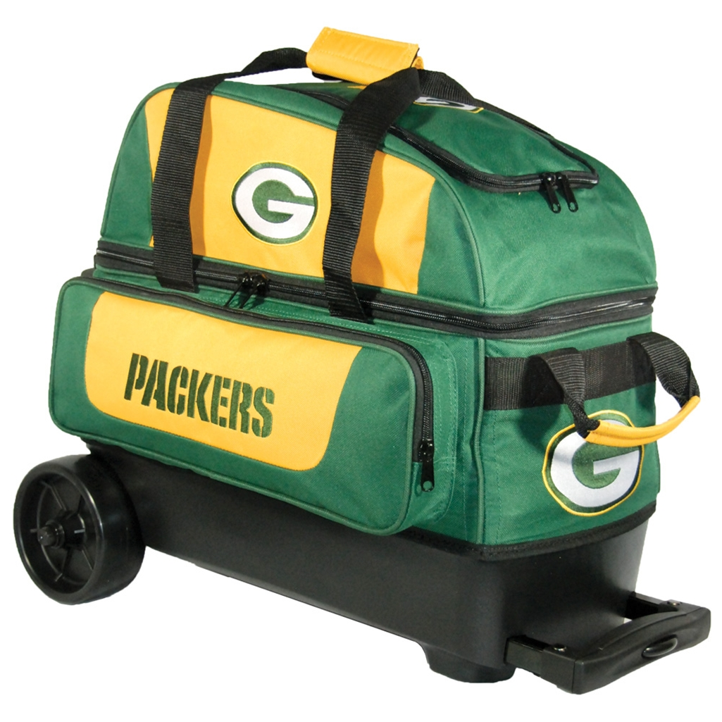 Nfl Double Roller Bowling Bag Green Bay Packers