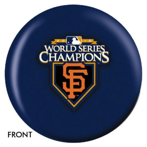 San Francisco Giants World Series Champs Bowling Ball - Version 1