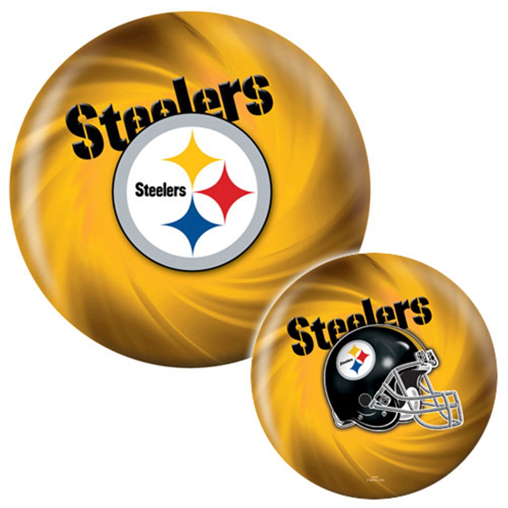 Pittsburgh Steelers Viz-A-Ball Bowling Ball