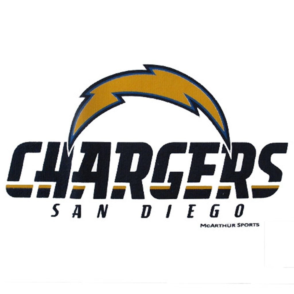 San Diego Chargers Bowling Ball: San Diego Chargers Bowling Towel By Master