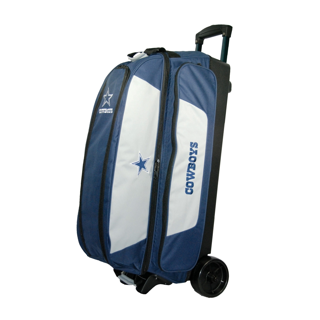 NFL Triple Roller Bowling Bag- Dallas Cowboys  b468d7c00