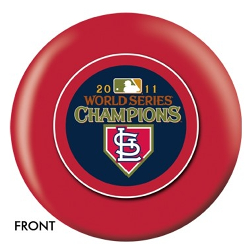 St. Louis Cardinals 2011 World Series Champs Bowling Ball