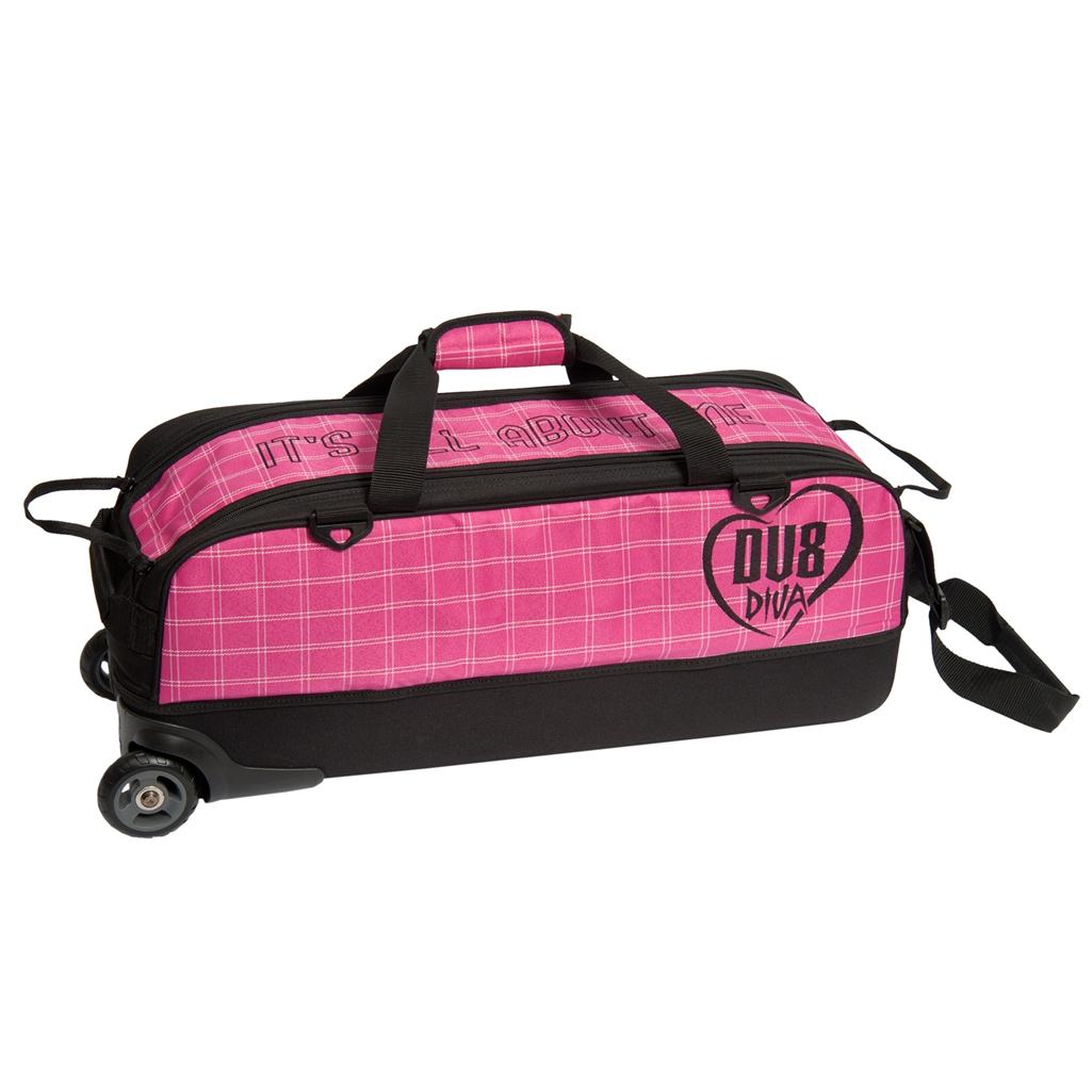 Dv8 Diva Slim Triple Tote Roller Bowling Bag