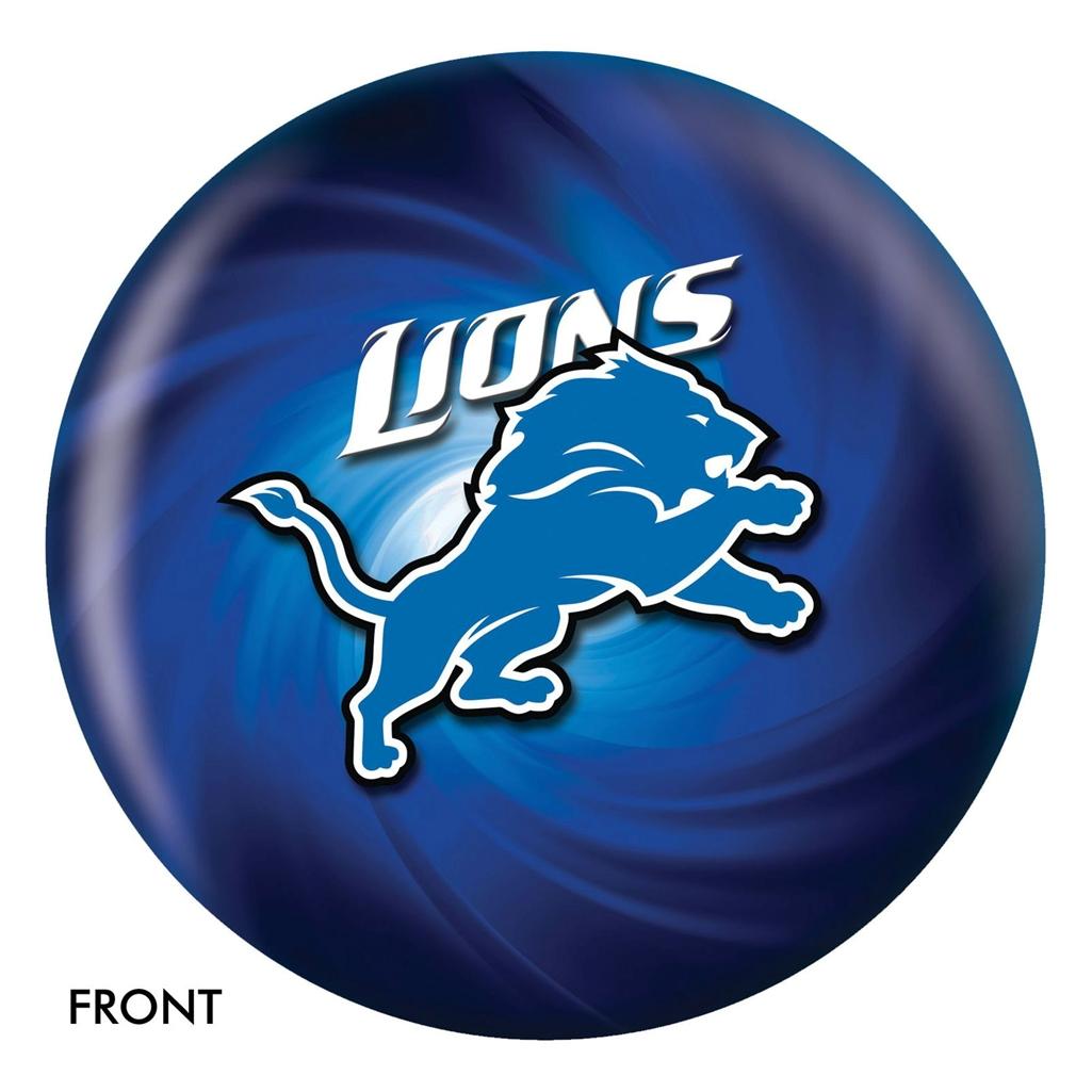 Detroit Lions NFL Bowling Ball- 2014 Version 38b26eae8