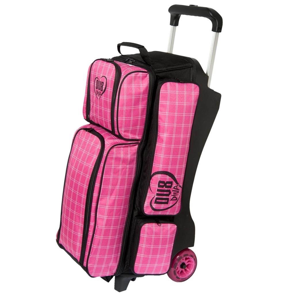 Dv8 Diva Deluxe 3 Ball Roller Bowling Bag
